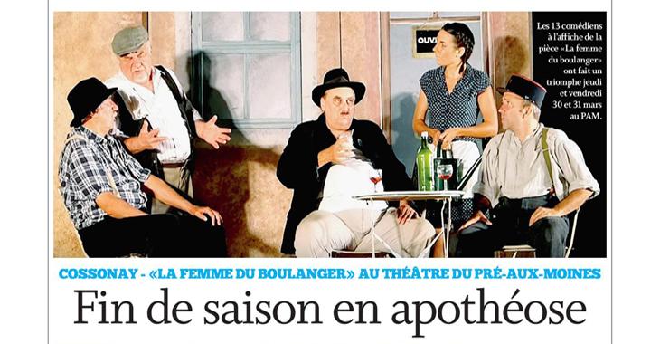 Théâtre PAM: bilan en apothéose