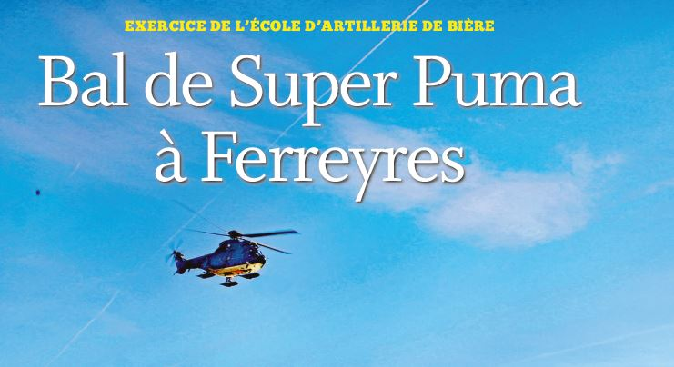 Bal de Super Puma à Ferreyres