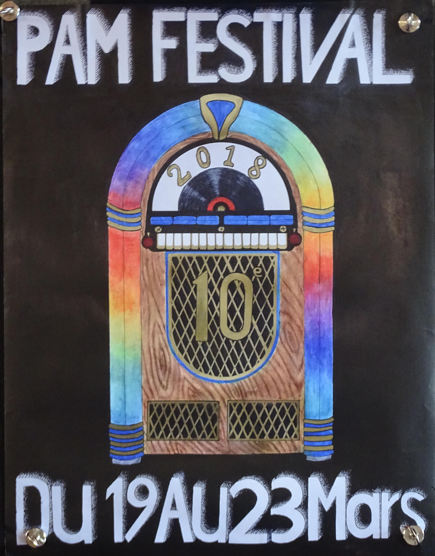 PAM Festival 2018 - L'affiche