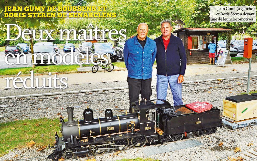 Jean Gumy de Boussens et Boris Steren de Senarclens, Deux maîtres en modèles réduits.