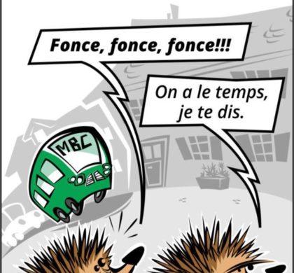 Dessinateur du Journal de Cossonay, Romain Mange participe à l'application La Torche 2.0 !