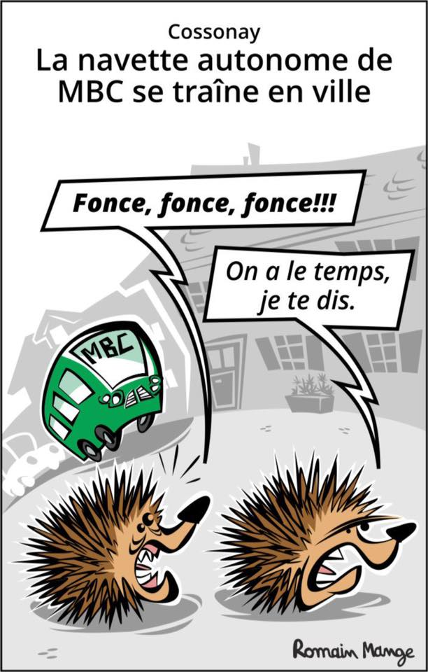 Dessinateur du Journal de Cossonay, Romain Mange participe à l'application La Torche 2.0 !