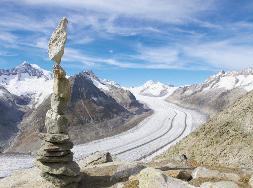 Rubrique Montagne – S'apaiser en érigeant des cairns