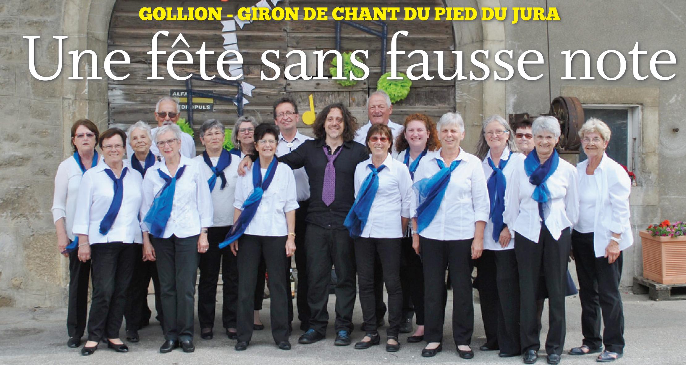 Gollion, Giron de Chant du Pied du Jura