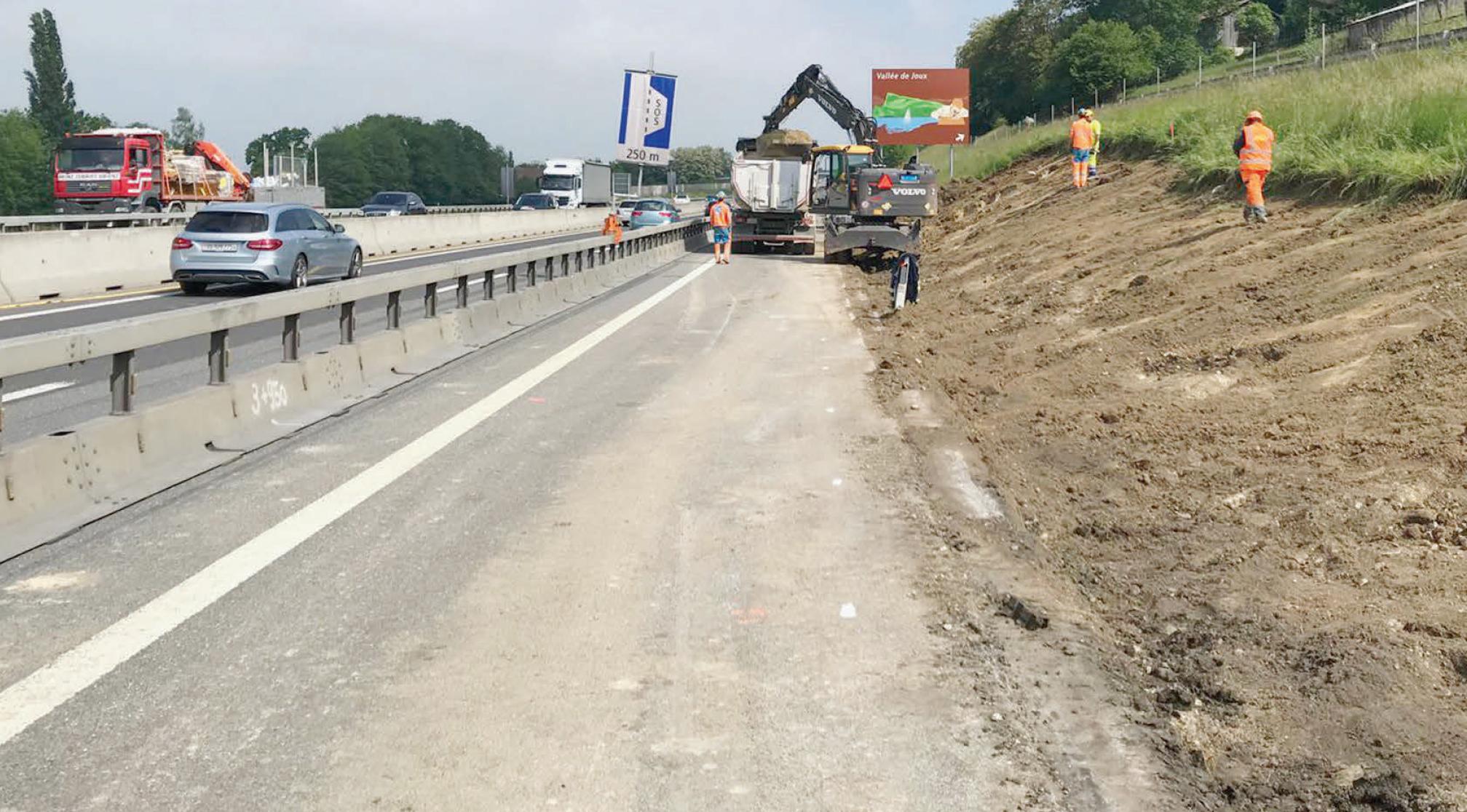 Quid des travaux routiers dans la région ?