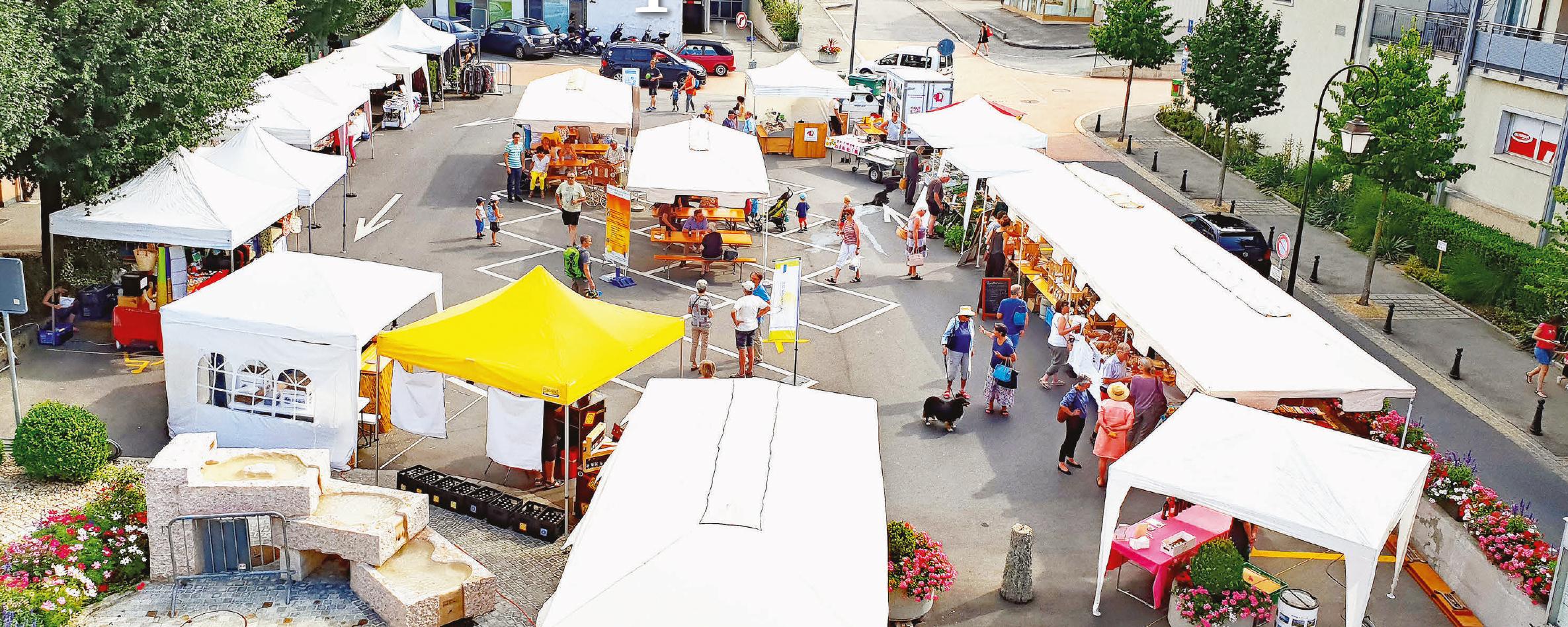 Cossonay – Un marché qui a bien marché !