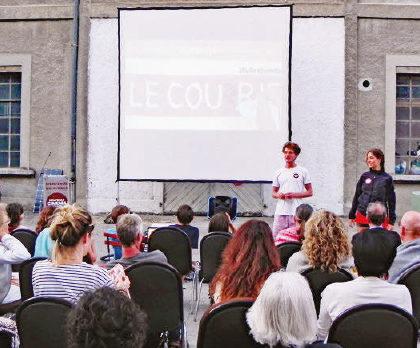 La Sarraz – Cinéma Sud – L'énergie solaire au service de l'humanitaire