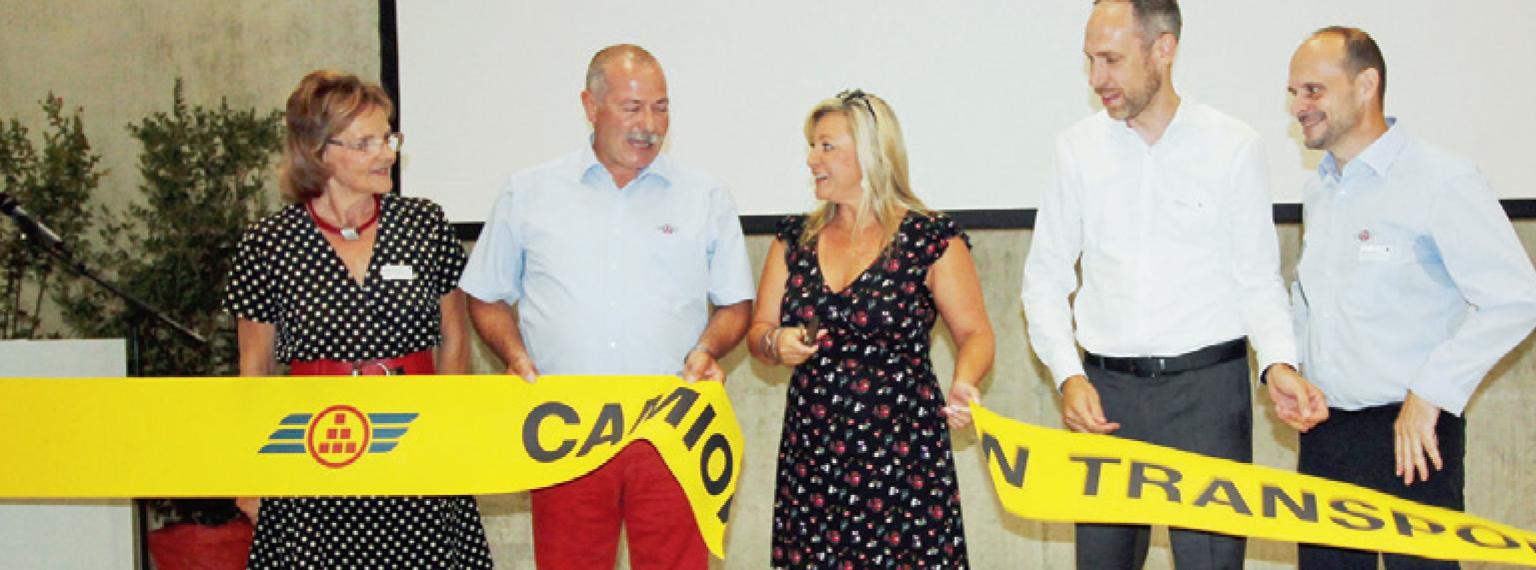 Vufflens-la-Ville – Inauguration du centre Cargo Logistique Léman de Camion Transport