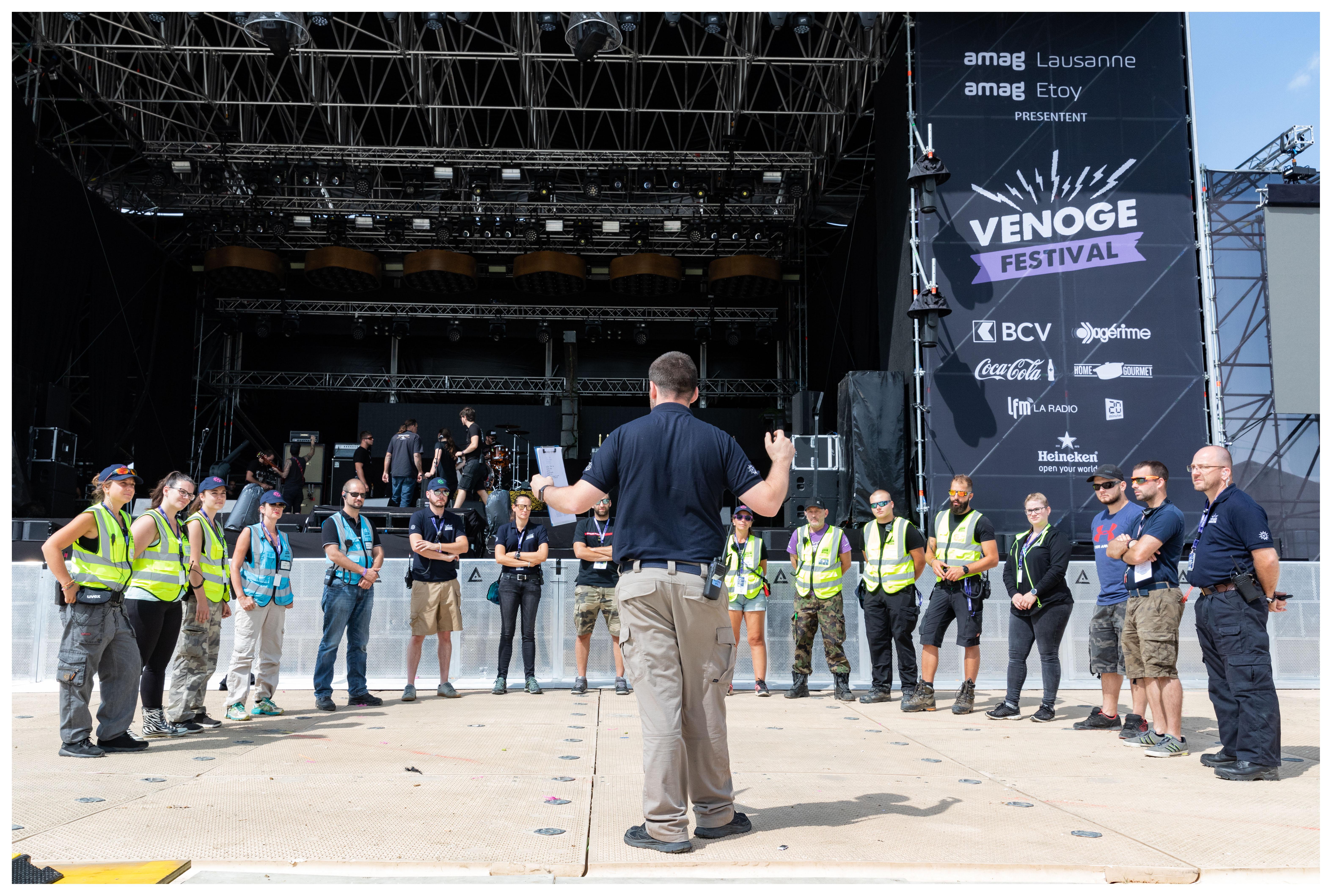 Venoge Festival – Une journée avec le responsable de la sécurité