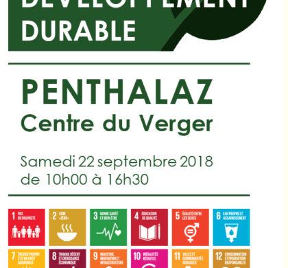 Penthalaz – Journée du développement durable – Samedi 22 septembre