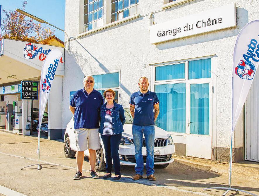 La Sarraz – Echo Commercial – Changement au Garage du Chêne