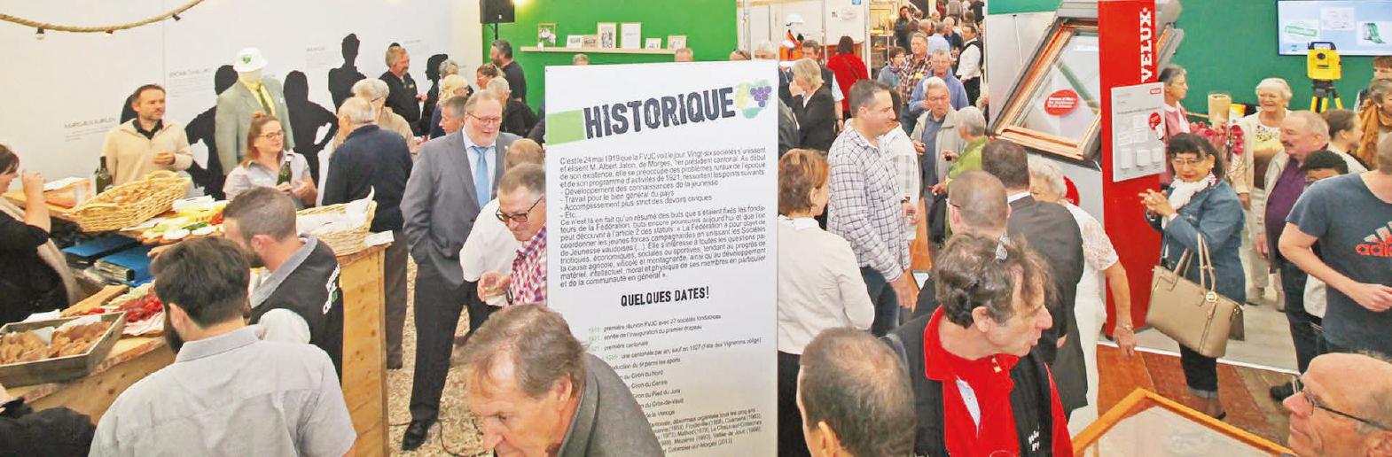 Gazette de l'Expo de Coss – Apéro officiel de la FVJC, invitée d'honneur
