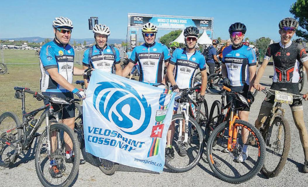 Cossonay – VéloSprint à Roc d'Azur – A boue de souffle !