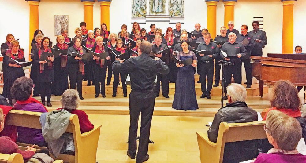 Choeur mixte de La Sarraz – Un formidable voyage musical