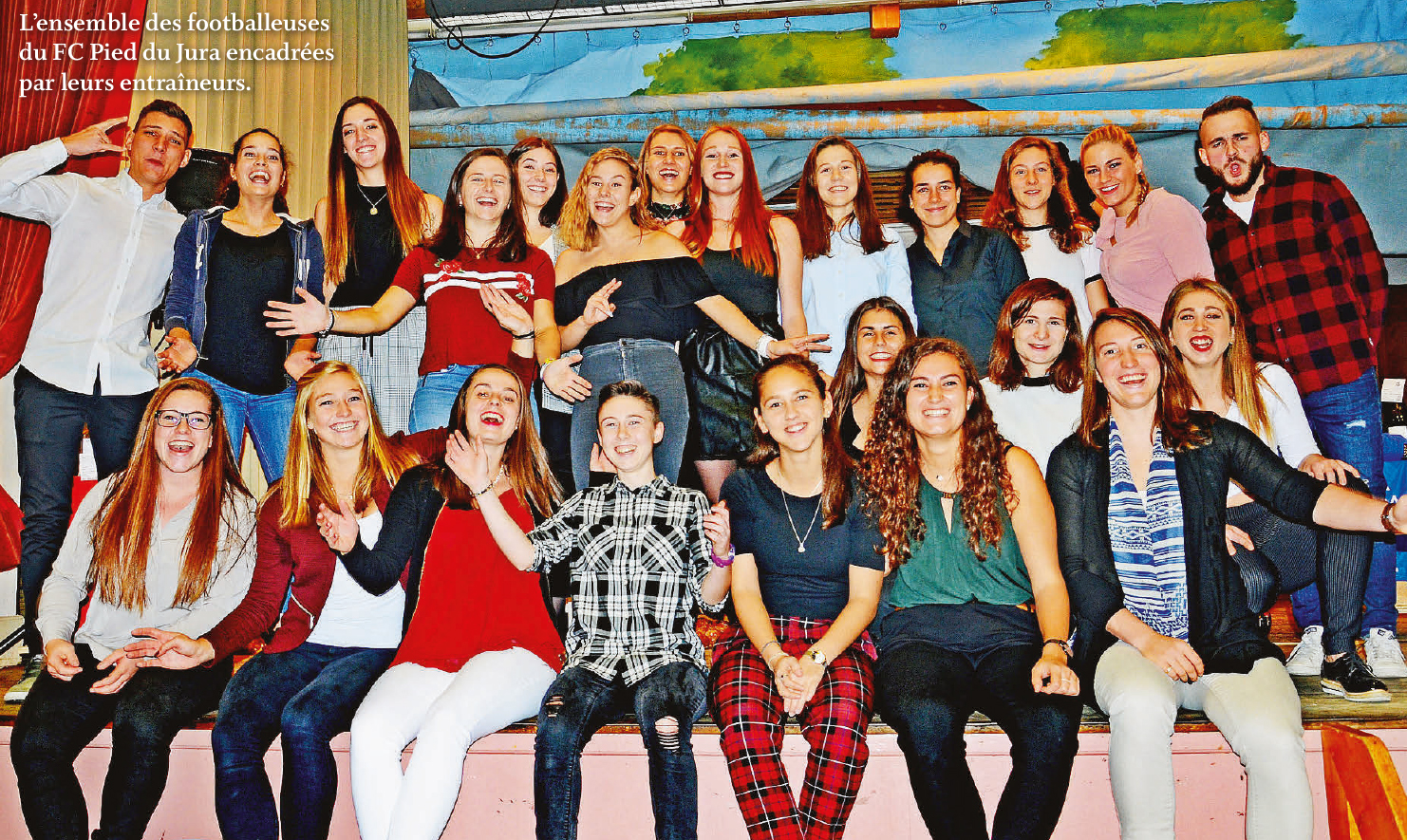 Pampigny – Repas en faveur du FC Féminin Pied du Jura