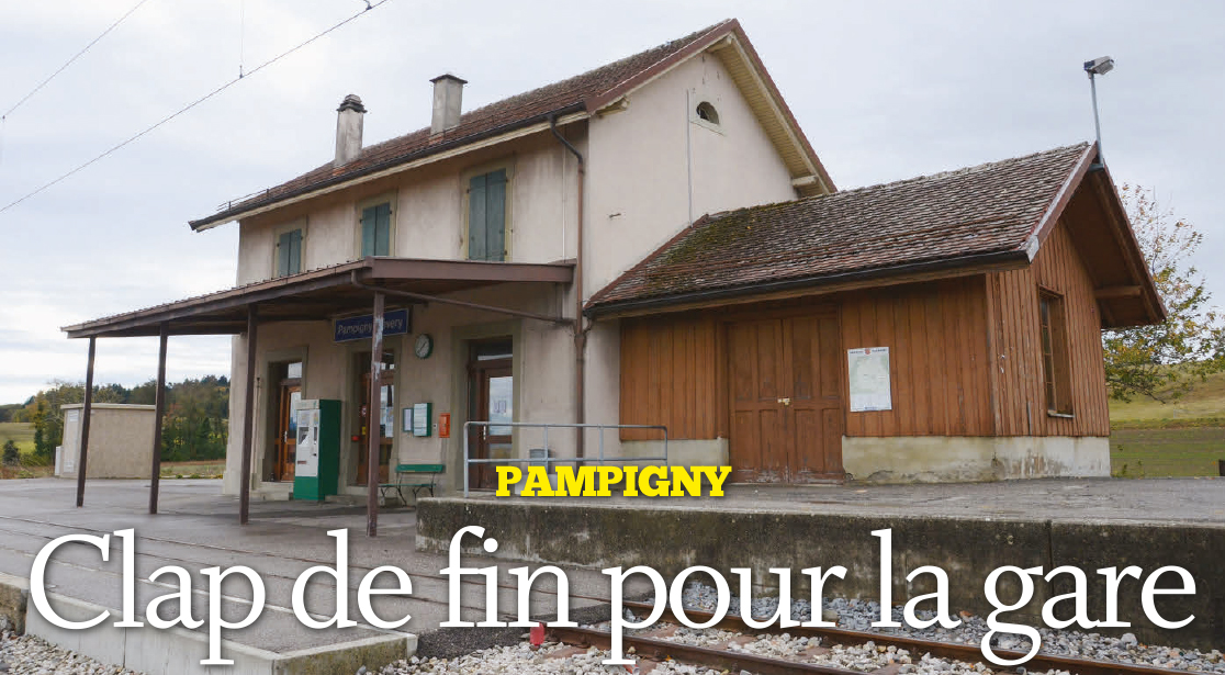 Pampigny – Clap de fin pour la gare