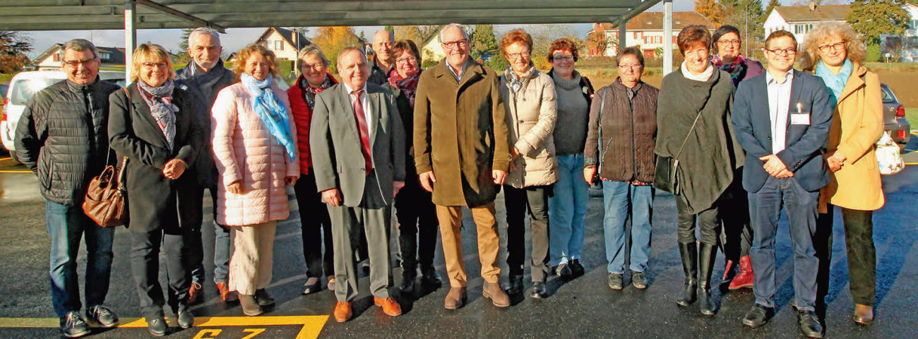 Cossonay – Le CMS passe au chemin du Passoir. Inauguration !
