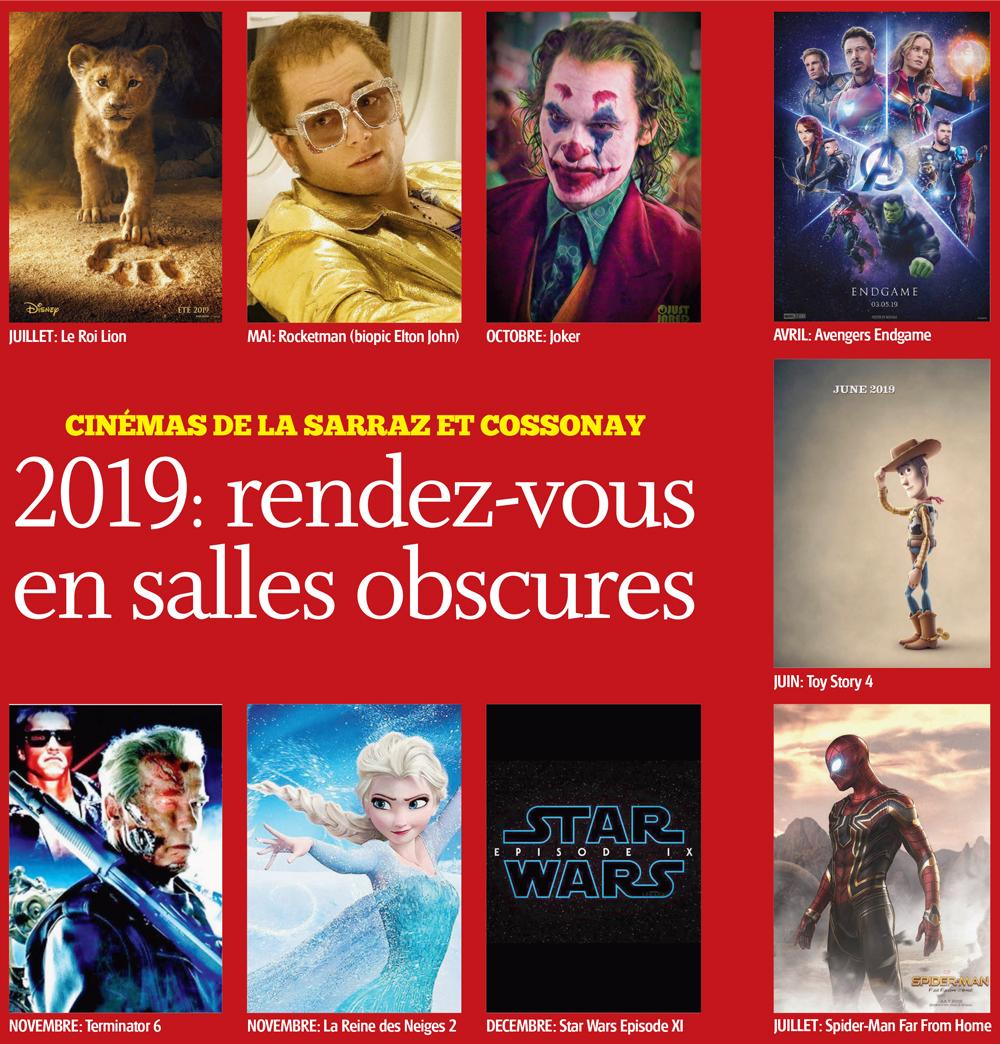 2019: rendez-vous en salles obscures – Cinéma de Cossonay et La Sarraz