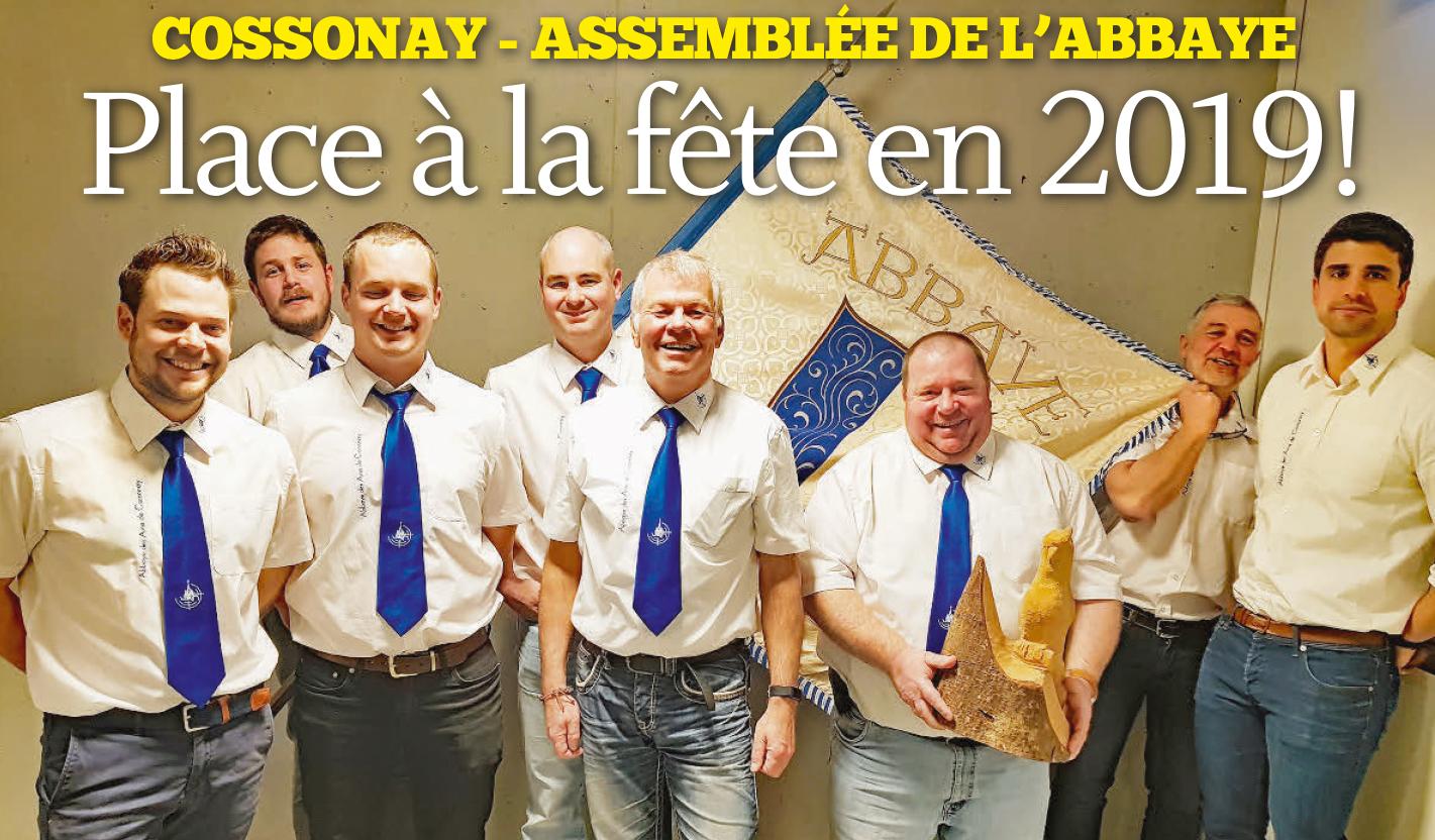 Cossonay – Assemblée de l'Abbaye, Place à la Fête en 2019