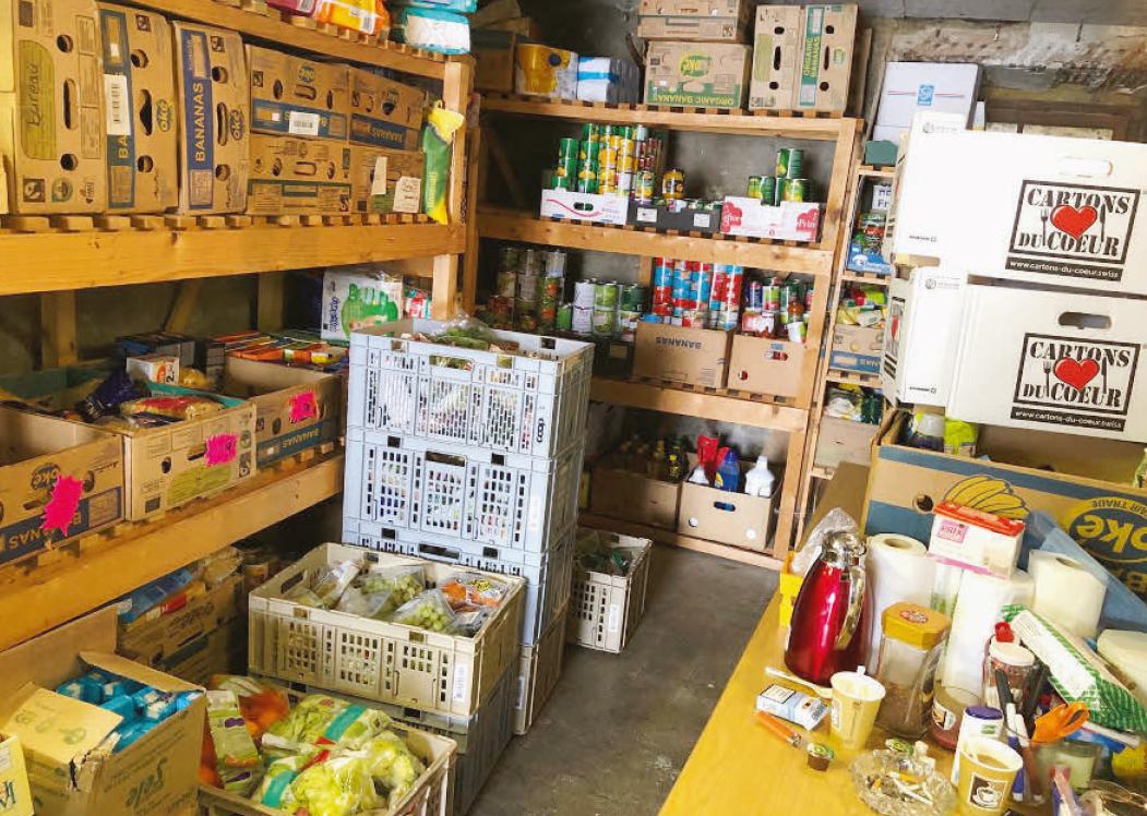 Penthalaz – Les Cartons du Cœur en quête d'un vrai garde-manger