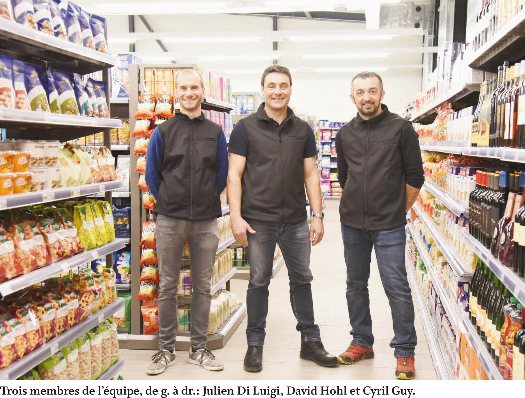 La Sarraz – Nouveau commerce de proximité