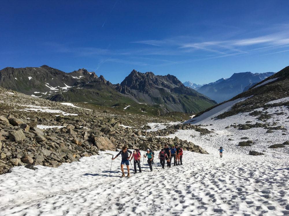 2017. La grande traversée des alpes : épisode 3