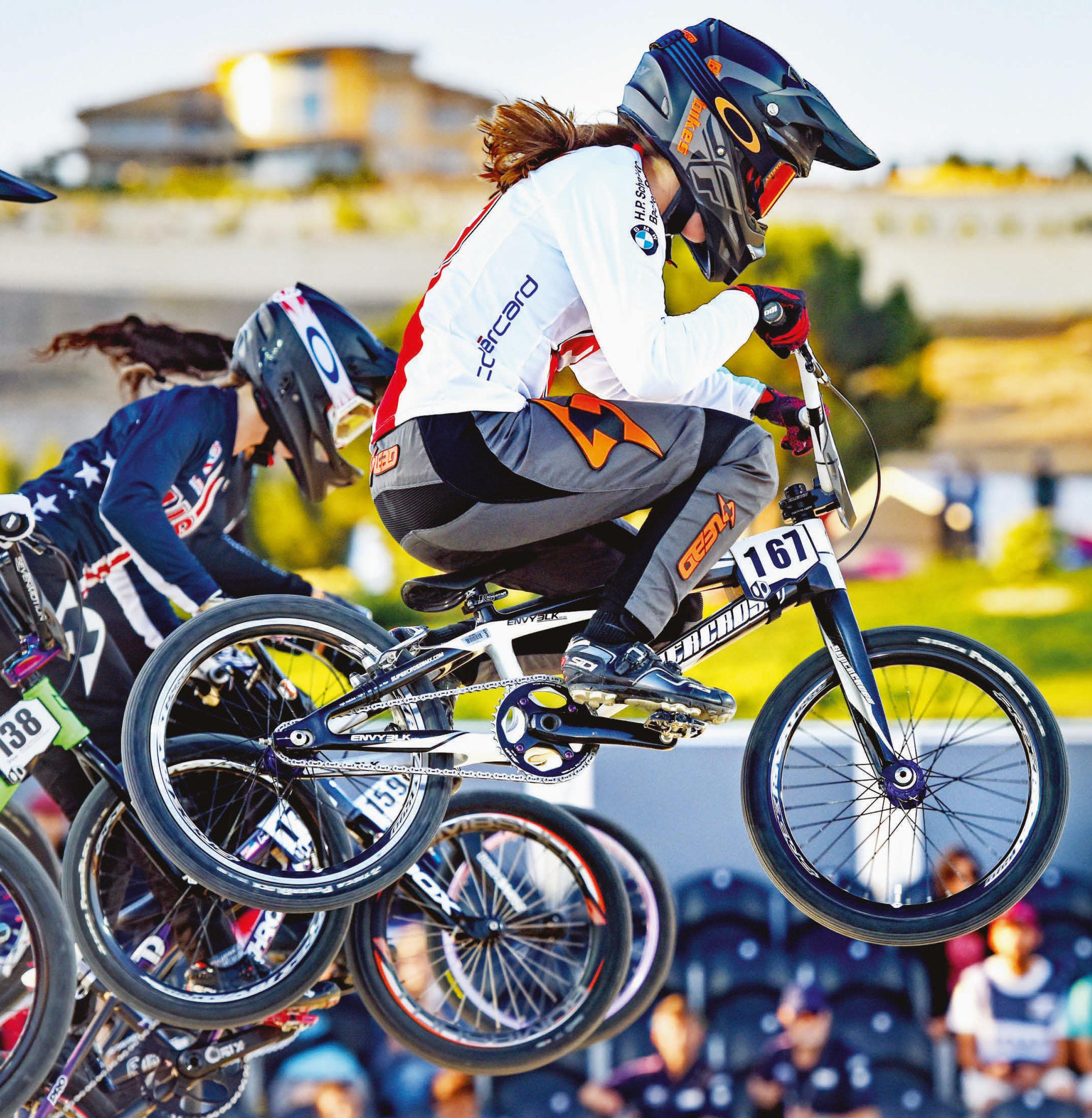 Penthalaz – Eloïse Donzallaz, championne de BMX – Les JO de Tokyo dans le viseur