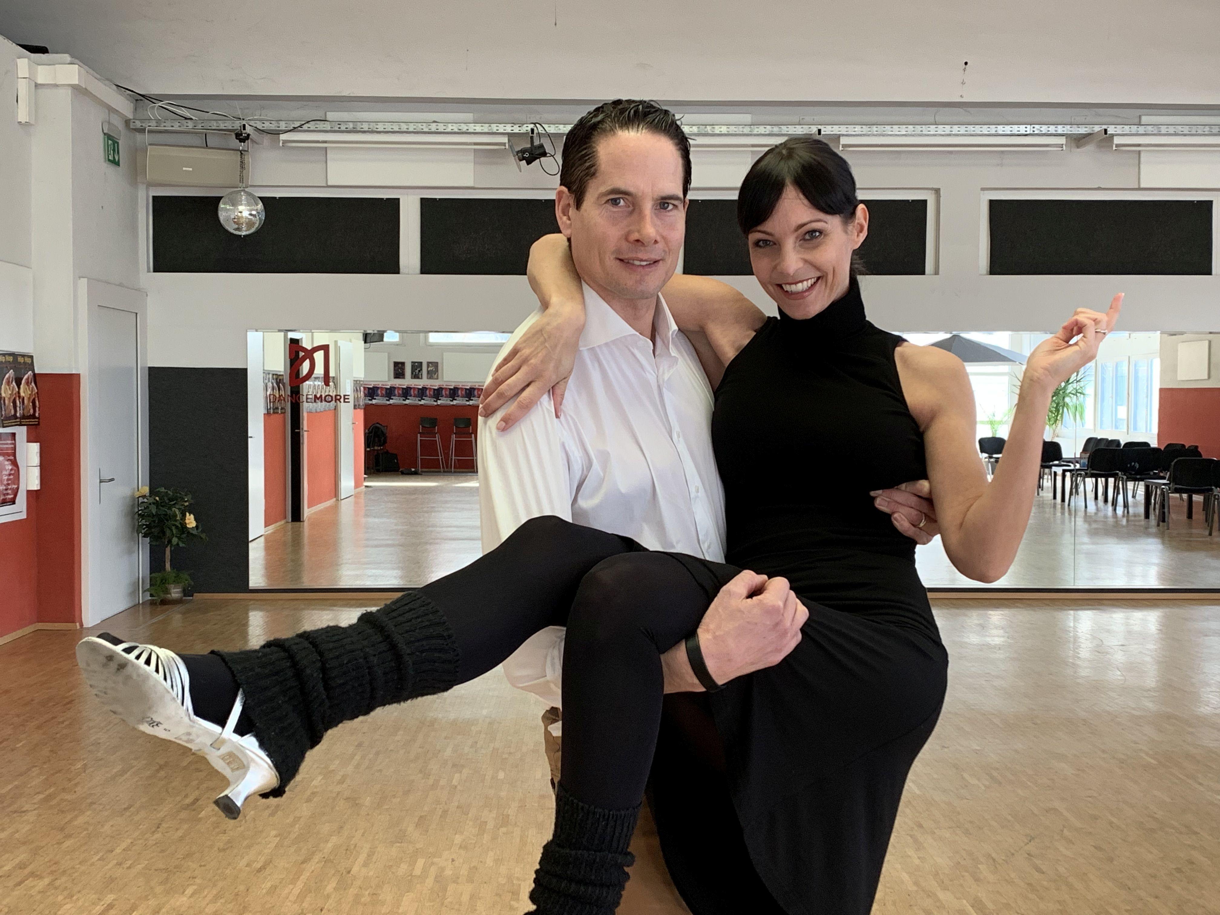 Un Tartreux danse avec une ancienne Miss Suisse !
