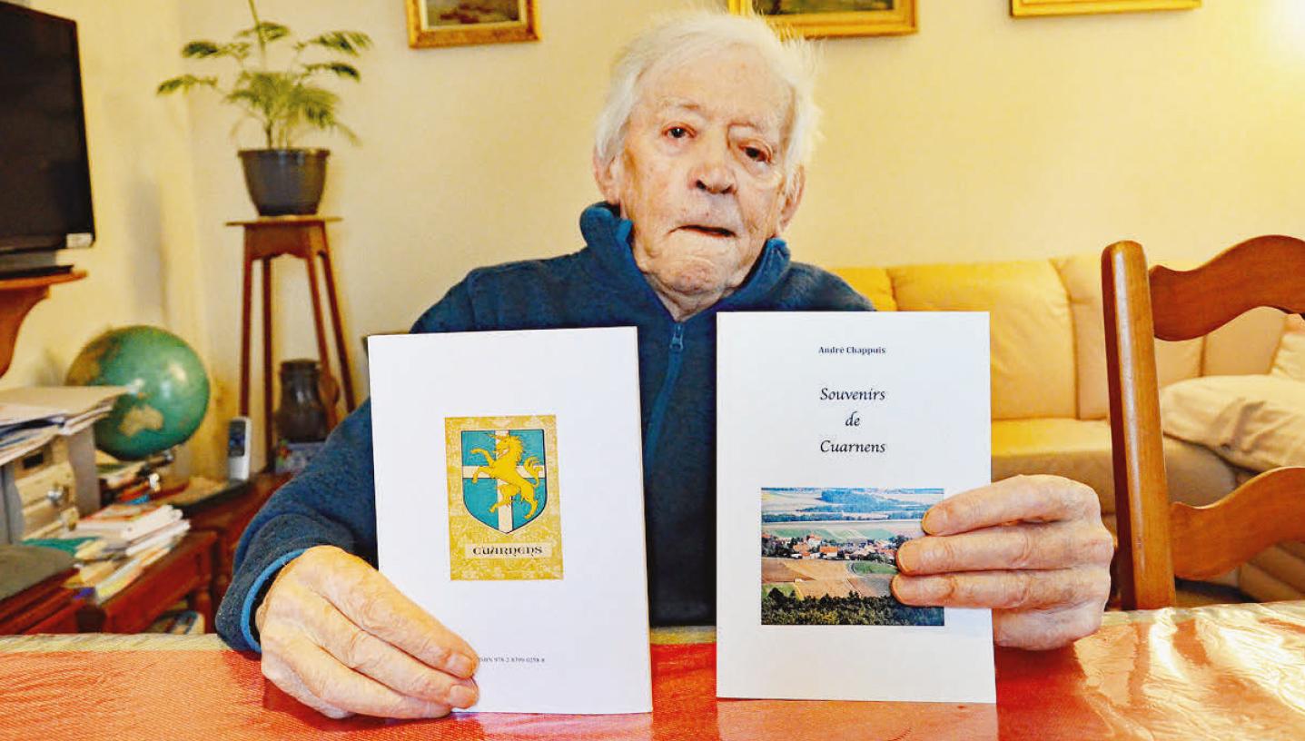 Cuarnens – Souvenirs du doyen du village, André Chappuis, 94 ans