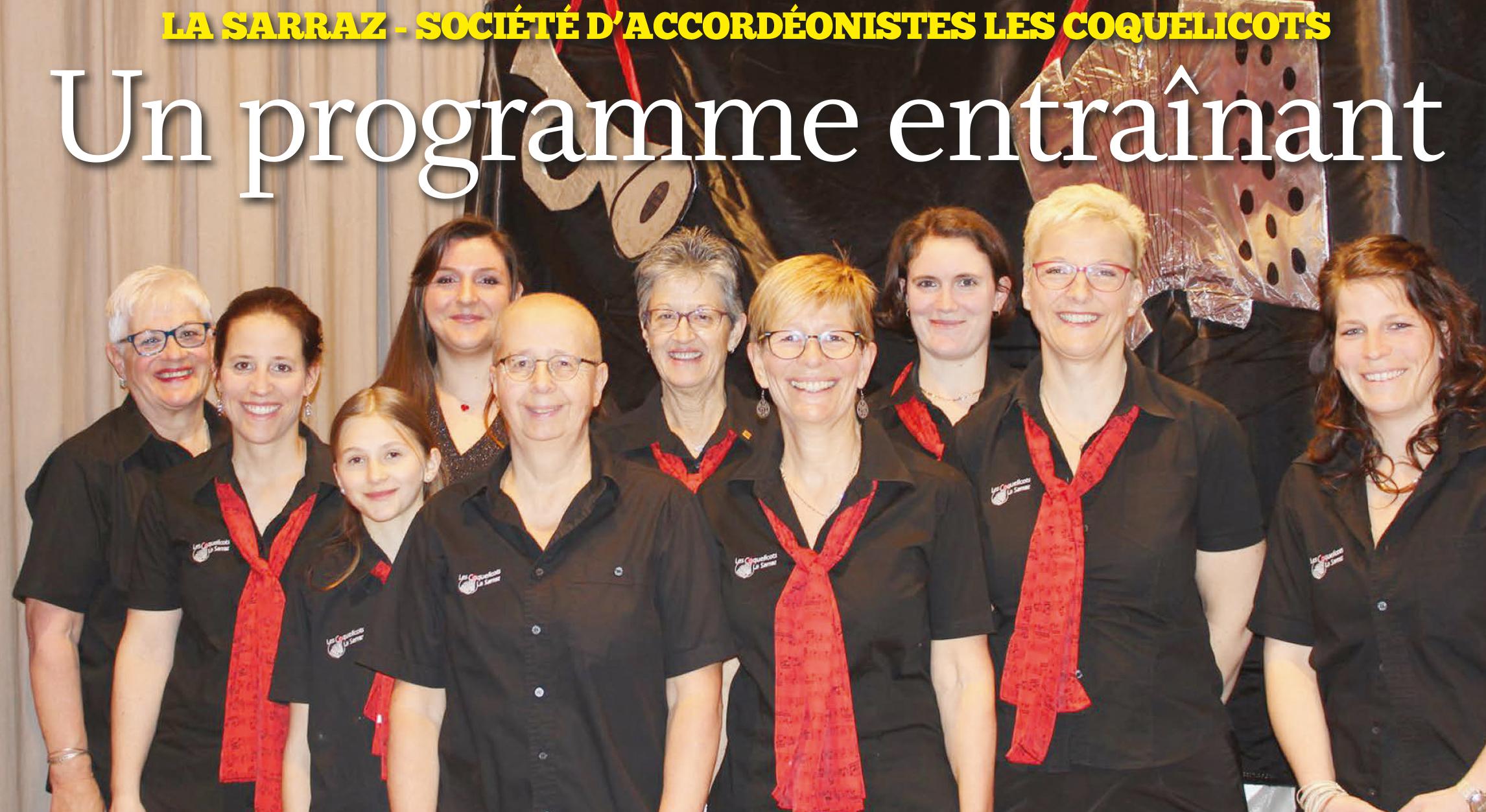 La Sarraz – Société d'accordéonistes Les Coquelicots