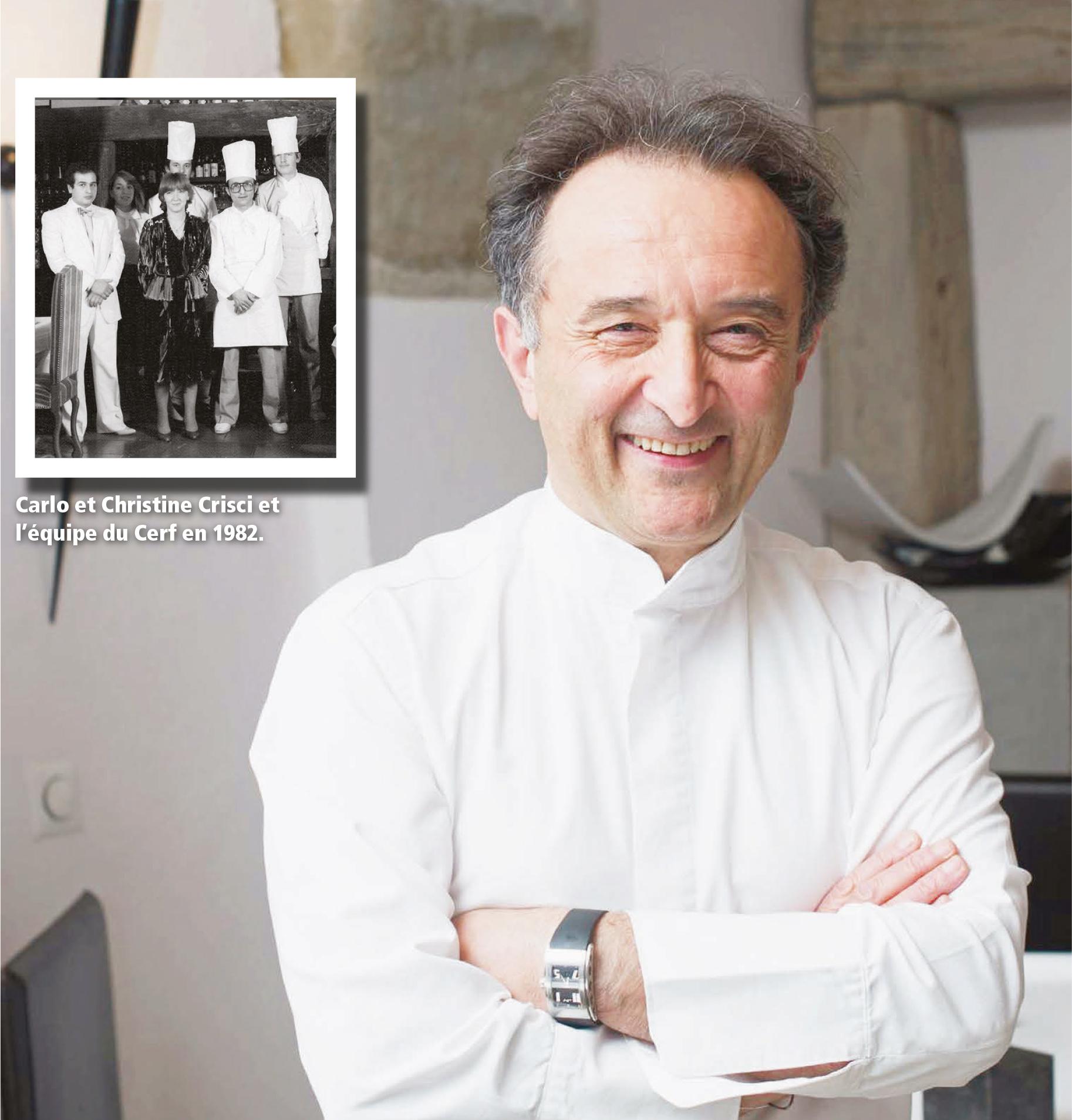 """Cossonay – Restaurant gastronomique de Carlo Crisci, """"Avec mon épouse nous arrêtons Le Cerf sous cette forme"""""""