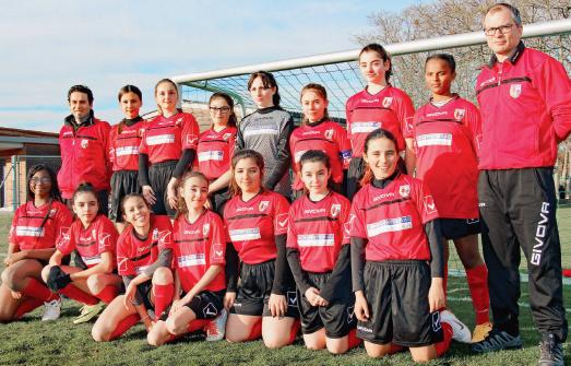 La Sarraz – Equipe féminine de football M15 – Les Sarrazines cartonnent !