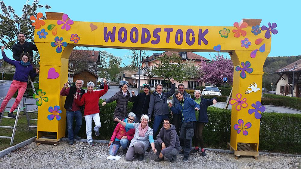 La Chaux – Woodstock, Jour J-105