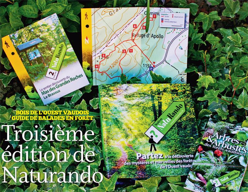Bois de l'ouest vaudois – guide de balades en forêt