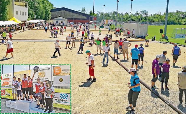Cossonay – Pétanque – Championnat vaudois relevé