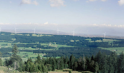Col du Mollendruz – Projet de parc éolien toujours en suspens