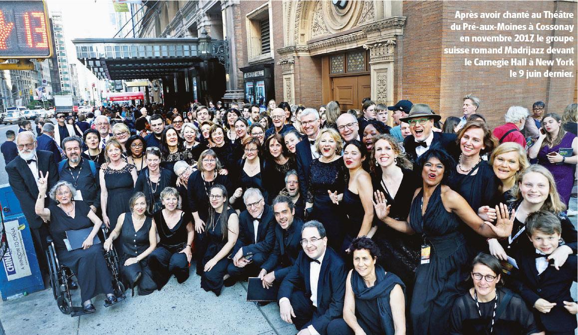 Groupe Madrijazz – Du PAM au Carnegie Hall !