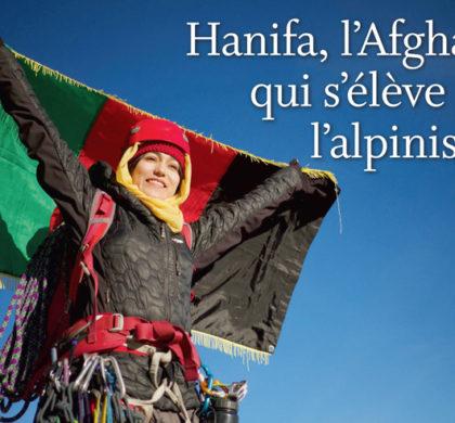Montagnes – Hanifa, l'Afghane  qui s'élève par l'alpinisme