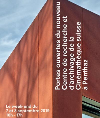 Penthaz – La Cinémathèque suisse ouvre ses portes les 7 et 8 septembre
