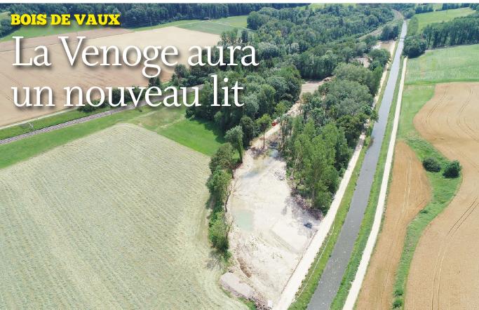 Bois de Vaux – La Venoge aura un nouveau lit