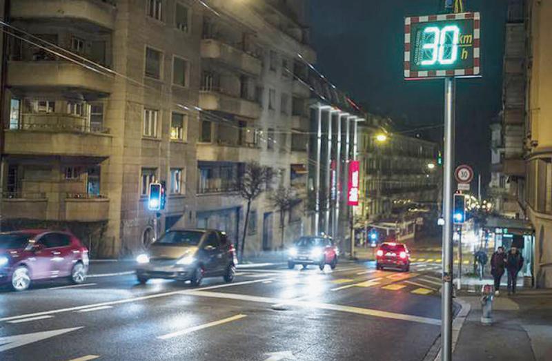 Le 30 km/h nocturne généralisé?