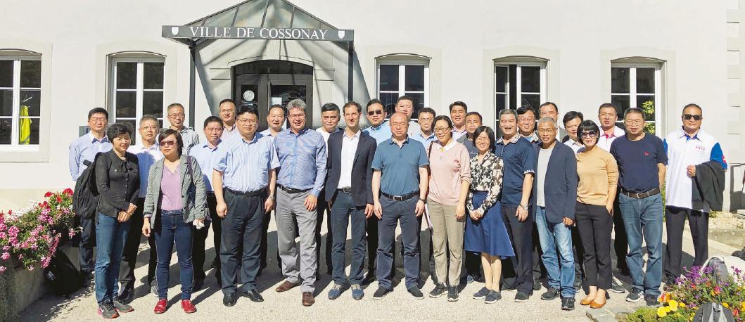 Cossonay – Visite d'une délégation chinoise vendredi passé