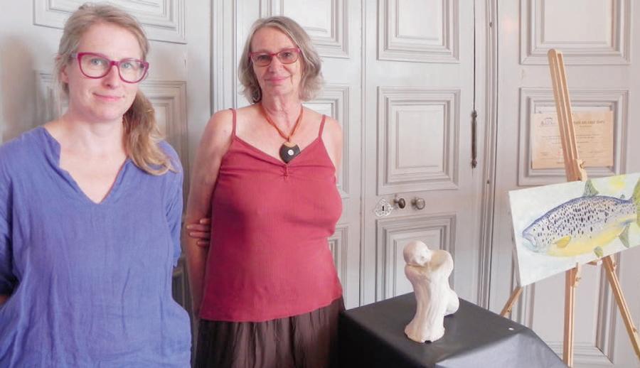 L'Isle – Priscille Grenier et Claude Robert exposent