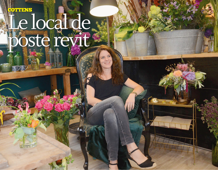 Cottens – Le local de poste revit
