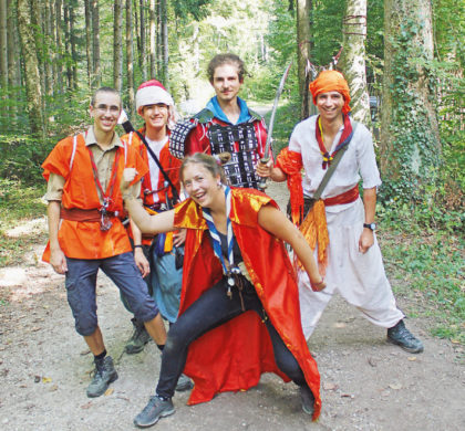 Grancy – Les scouts maîtres de la forêt
