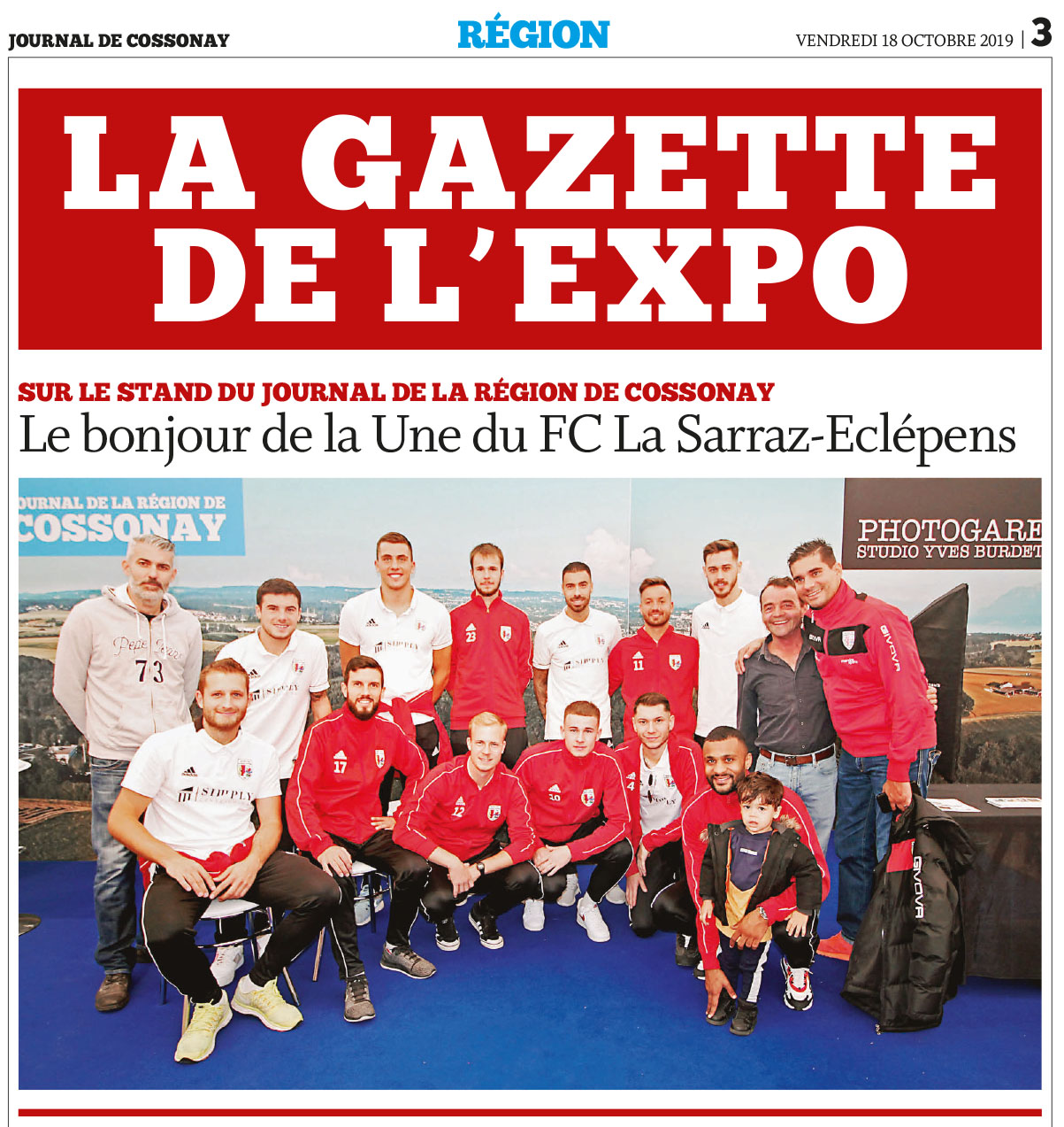 La Gazette de l'Expo !