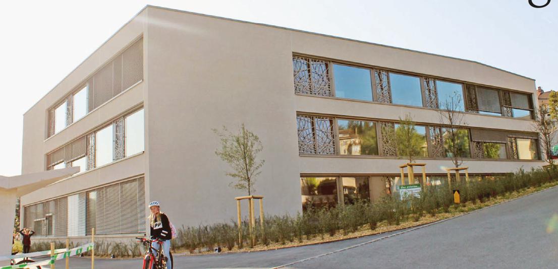 La Sarraz – Ouverture du nouveau collège