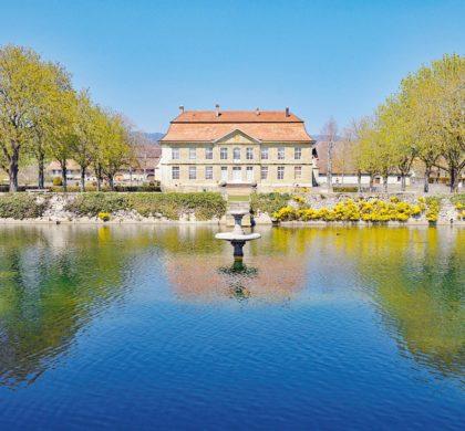 Histoire du bassin du Château de L'Isle