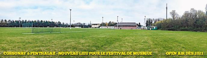 Cossonay et Penthalaz – Nouveau lieu pour le Venoge Festival dès 2021