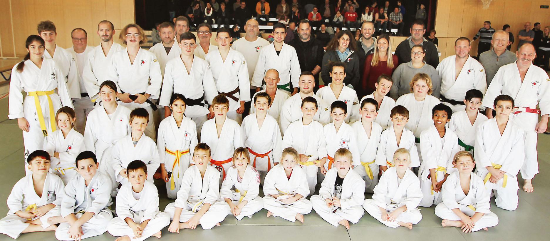 Judo-Club de Ballens – 40 ans d'amitié et de tatamis